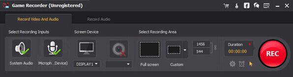 Aiseesoft Game Recorder Screenshot