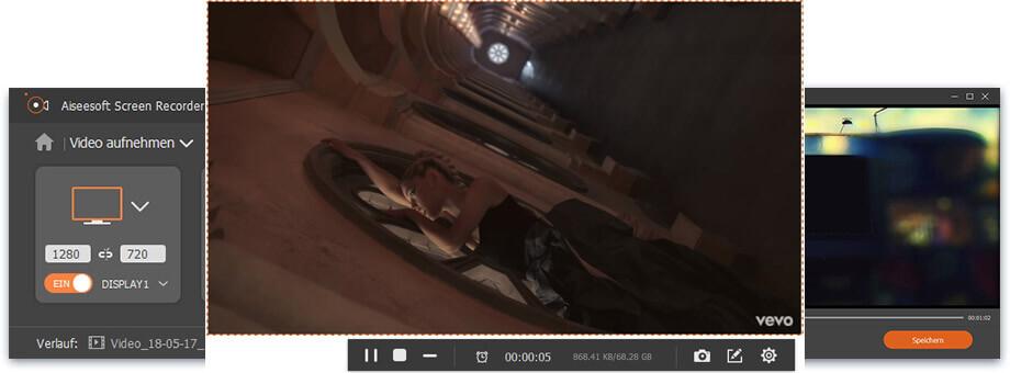 Aiseesoft Screen Recorder Screenshot