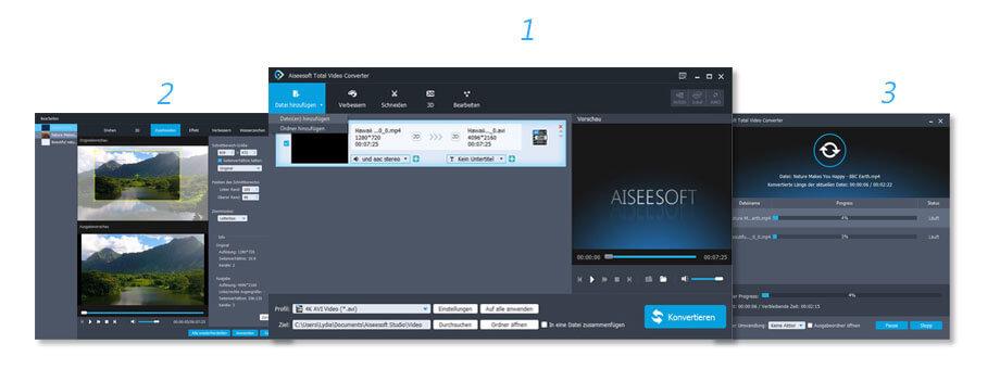Aiseesoft Total Video Converter Screenshot