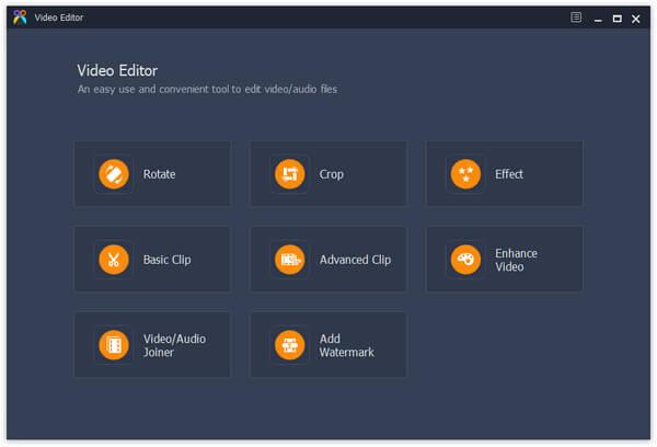 Aiseesoft Video Editor Screenshot