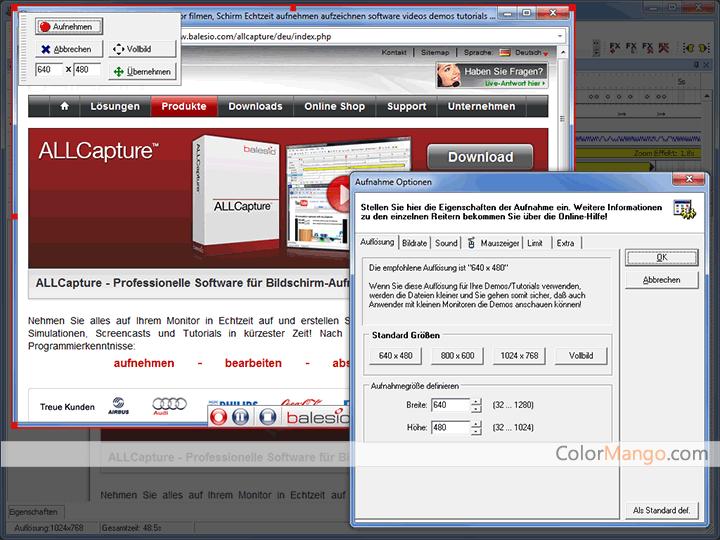 balesio ALLCapture Screenshot