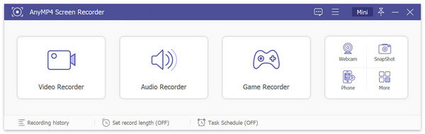 AnyMP4 Screen & Audio Recorder Screenshot