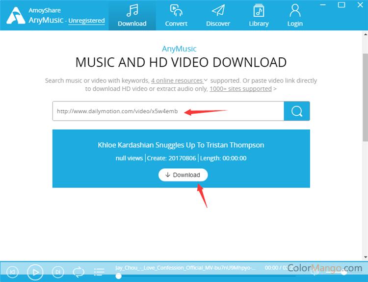 AnyMusic Screenshot