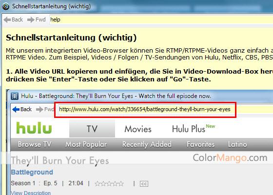 Apowersoft Streaming Video Recorder Screenshot