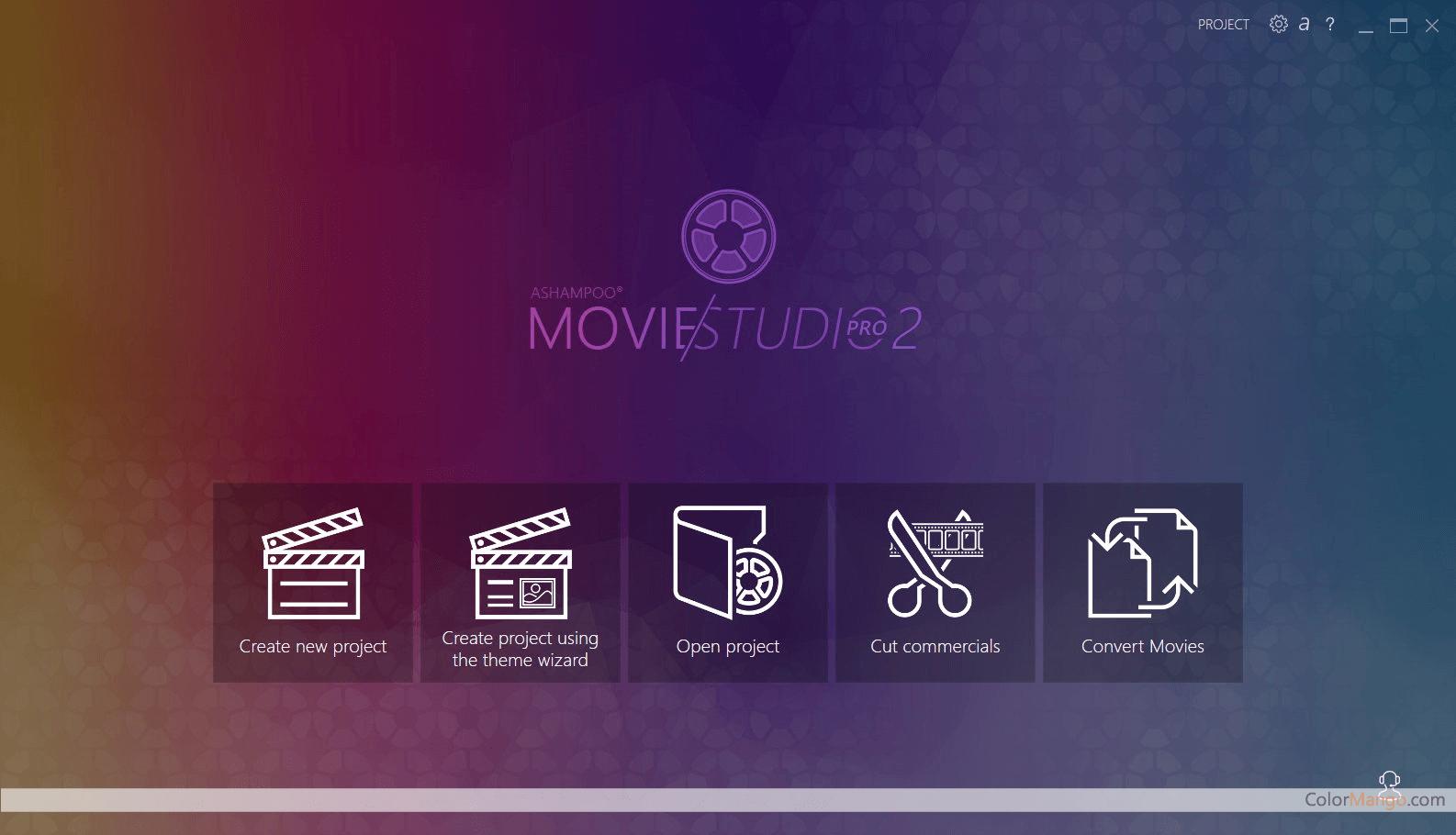 Ashampoo Movie Studio Pro Screenshot
