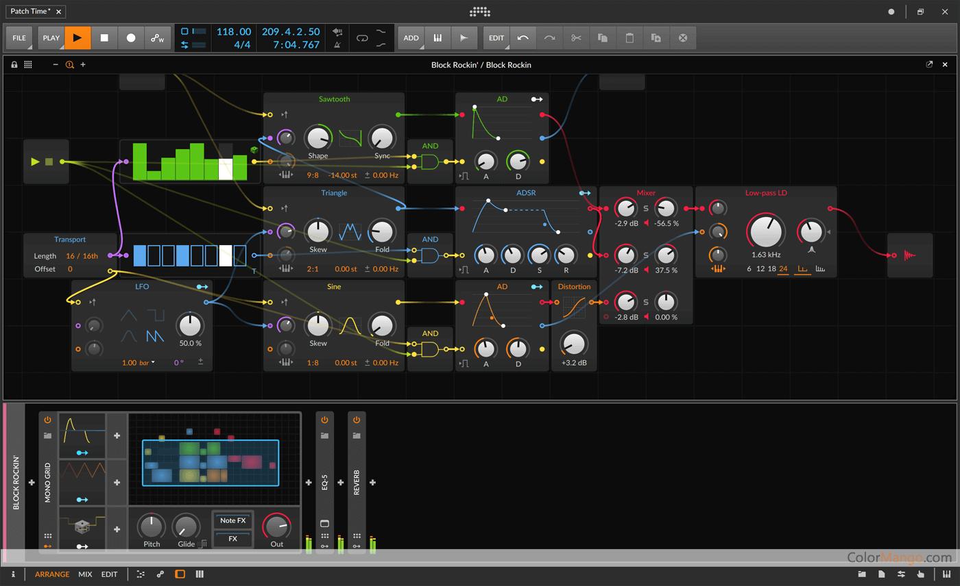 Bitwig Studio Screenshot