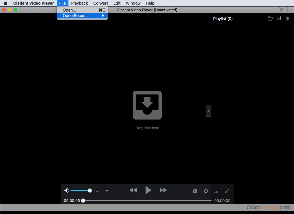 Cisdem Video Player for Mac Screenshot