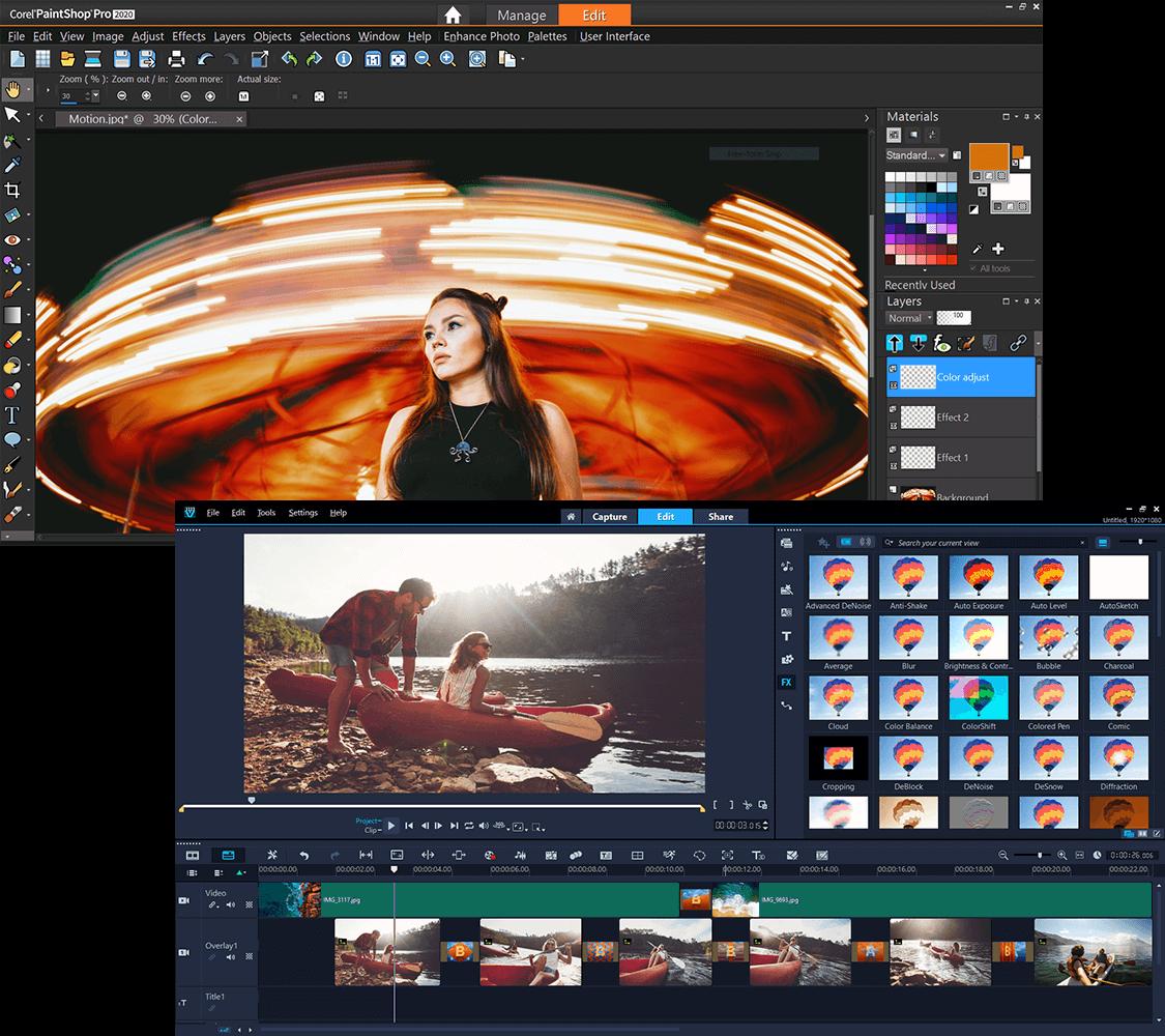 Corel Photo Video Bundle Screenshot