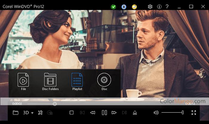 Corel WinDVD Pro Screenshot