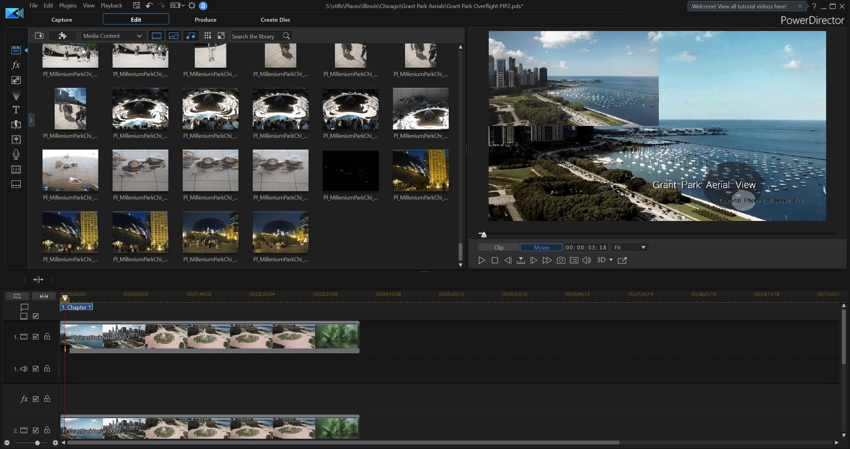 CyberLink Director Suite 365 Screenshot