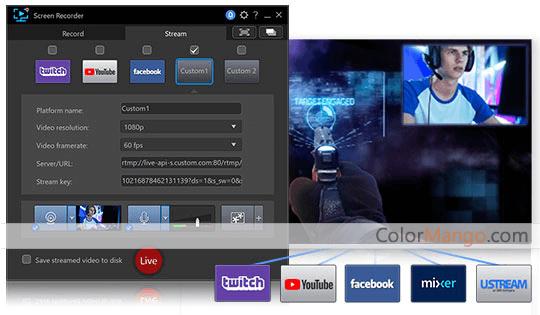 CyberLink Screen Recorder Screenshot