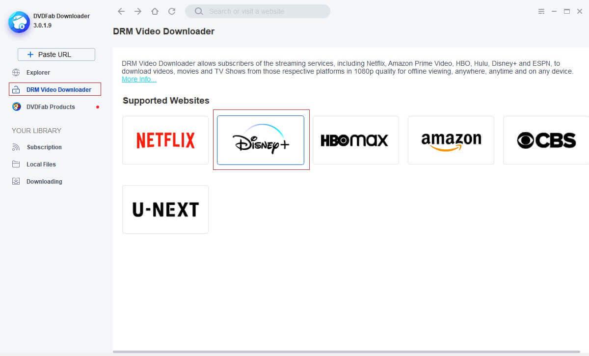 StreamFab Disney Plus Downloader Screenshot