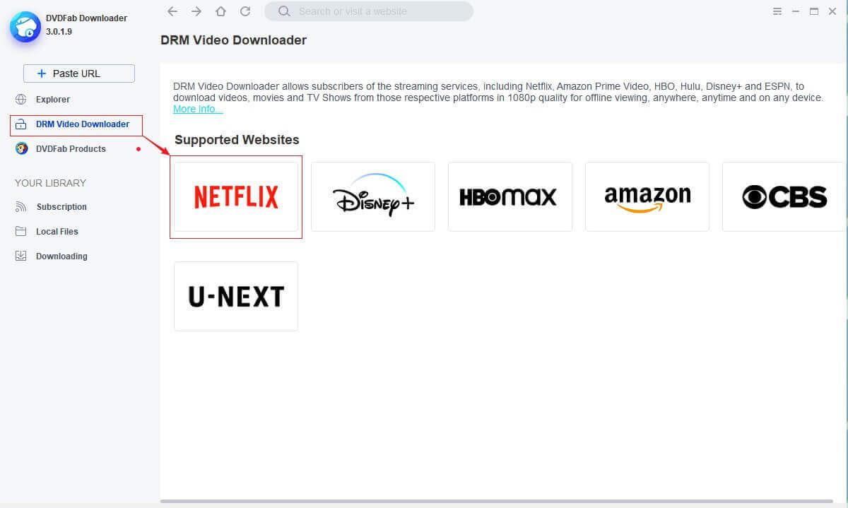 StreamFab Netflix Downloader Screenshot