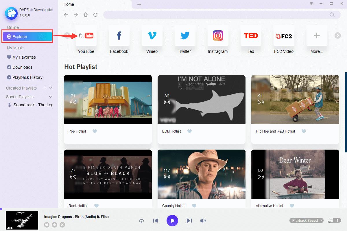 StreamFab YouTube to MP3 Screenshot