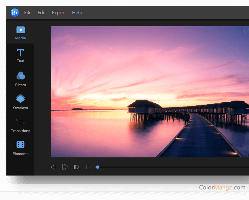 EaseUS Video Editor Screenshot