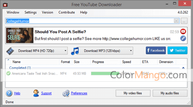 Free YouTube Downloader Official Download - Freeware