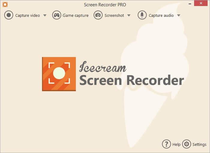 Icecream Screen Recorder Pro Screenshot