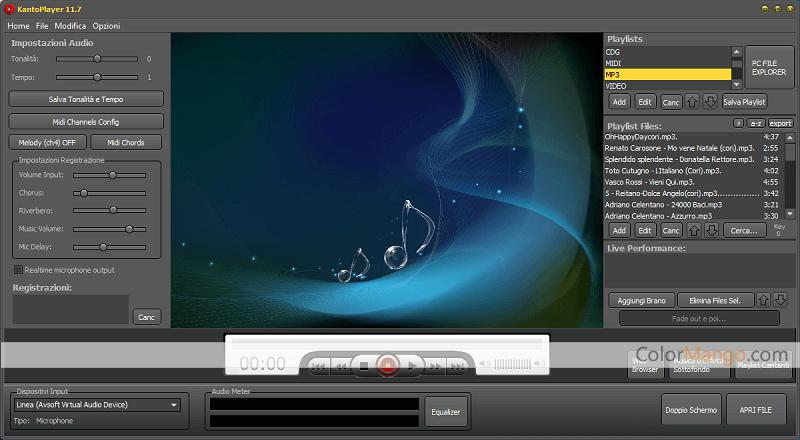 Kanto Player Screenshot