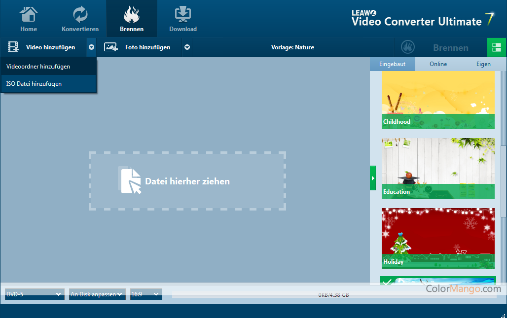 Leawo Video Converter Ultimate Screenshot
