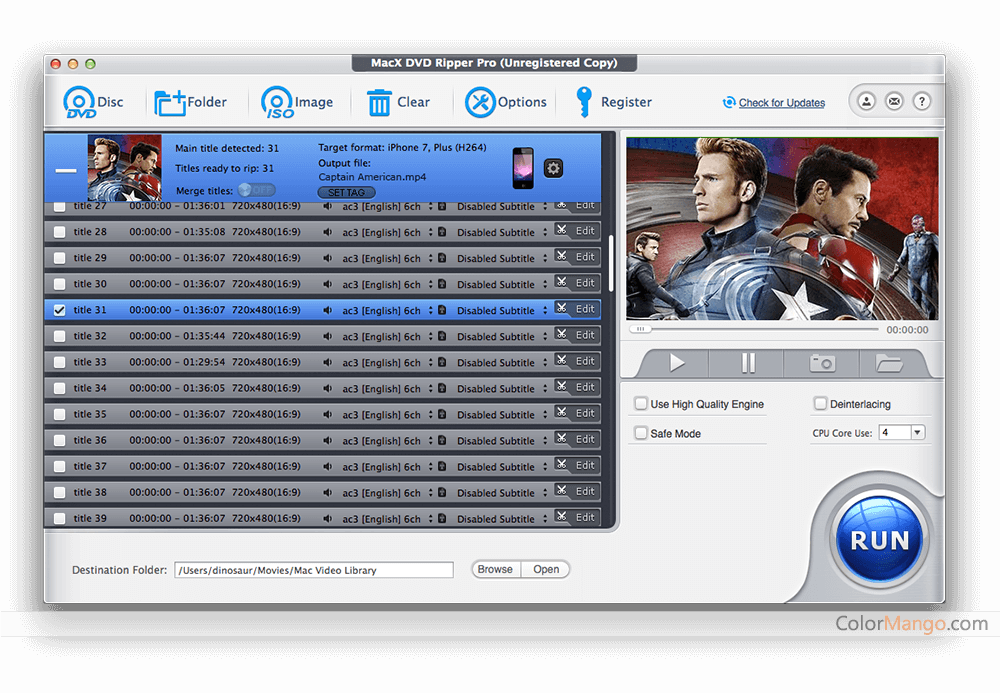 MacX Holiday Video Converter Pack Screenshot