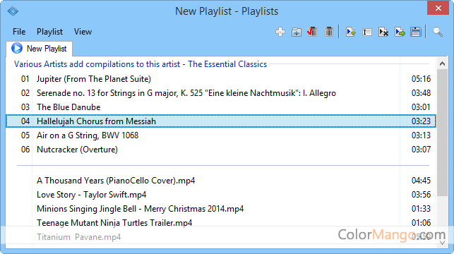 Media Player Morpher Screenshot