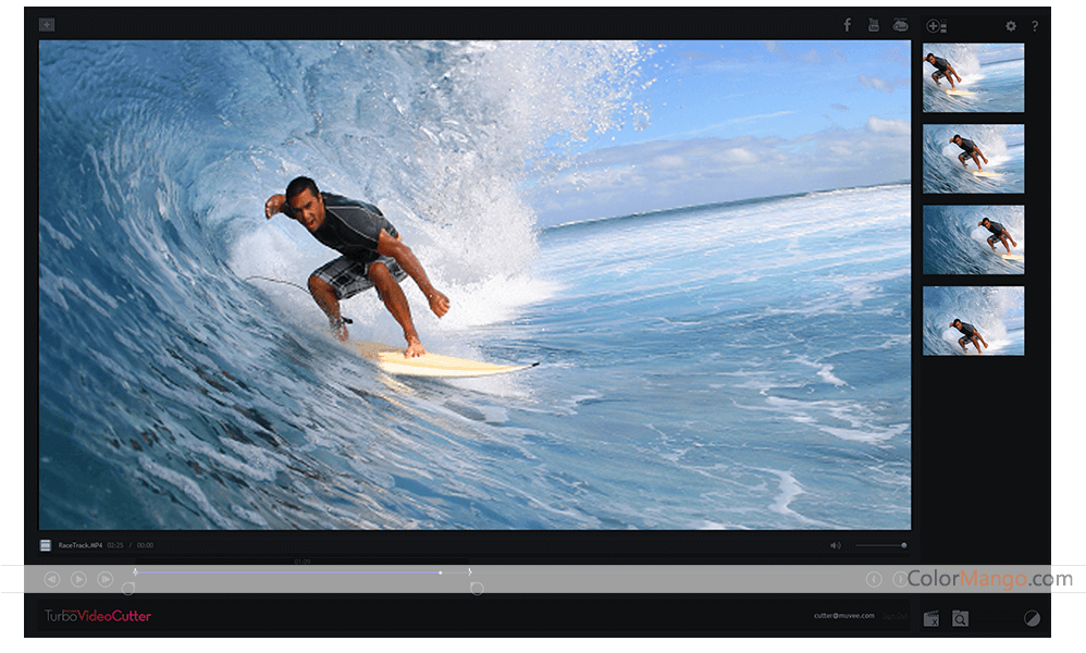 muvee Turbo Video Cutter Screenshot