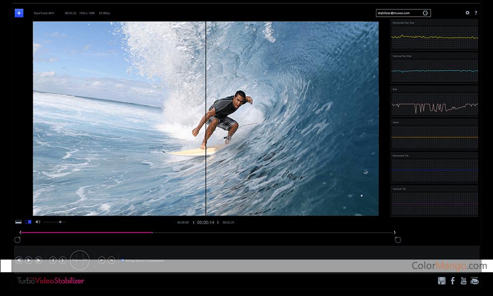 muvee Turbo Video Stabilizer Screenshot