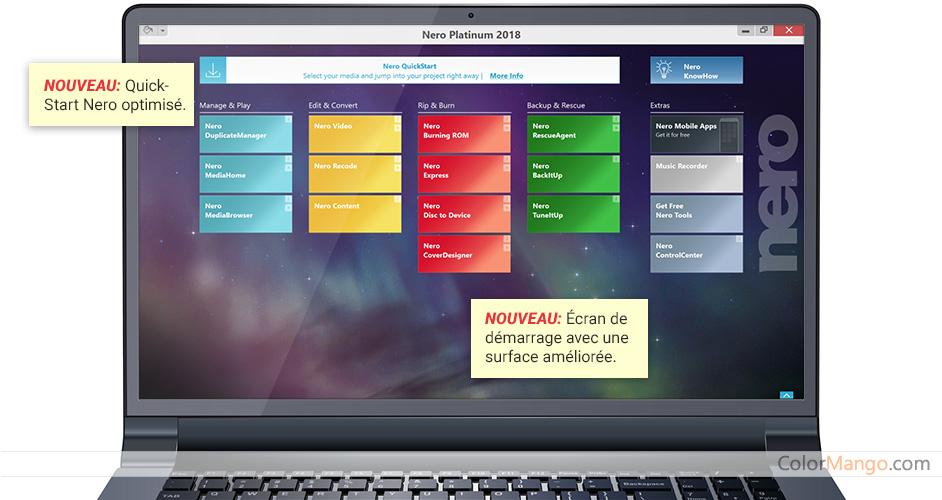 Nero Platinum Suite Screenshot