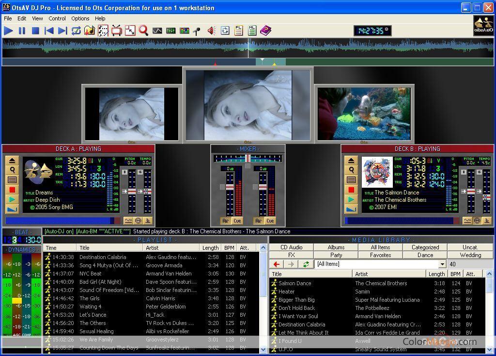 OtsAV DJ Screenshot