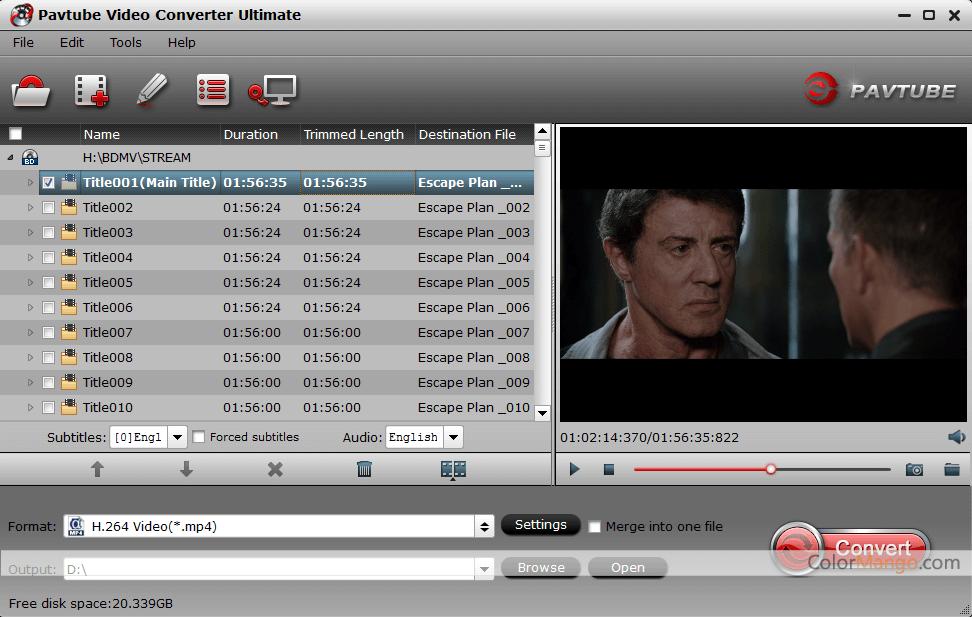 Pavtube Video Converter Ultimate Screenshot