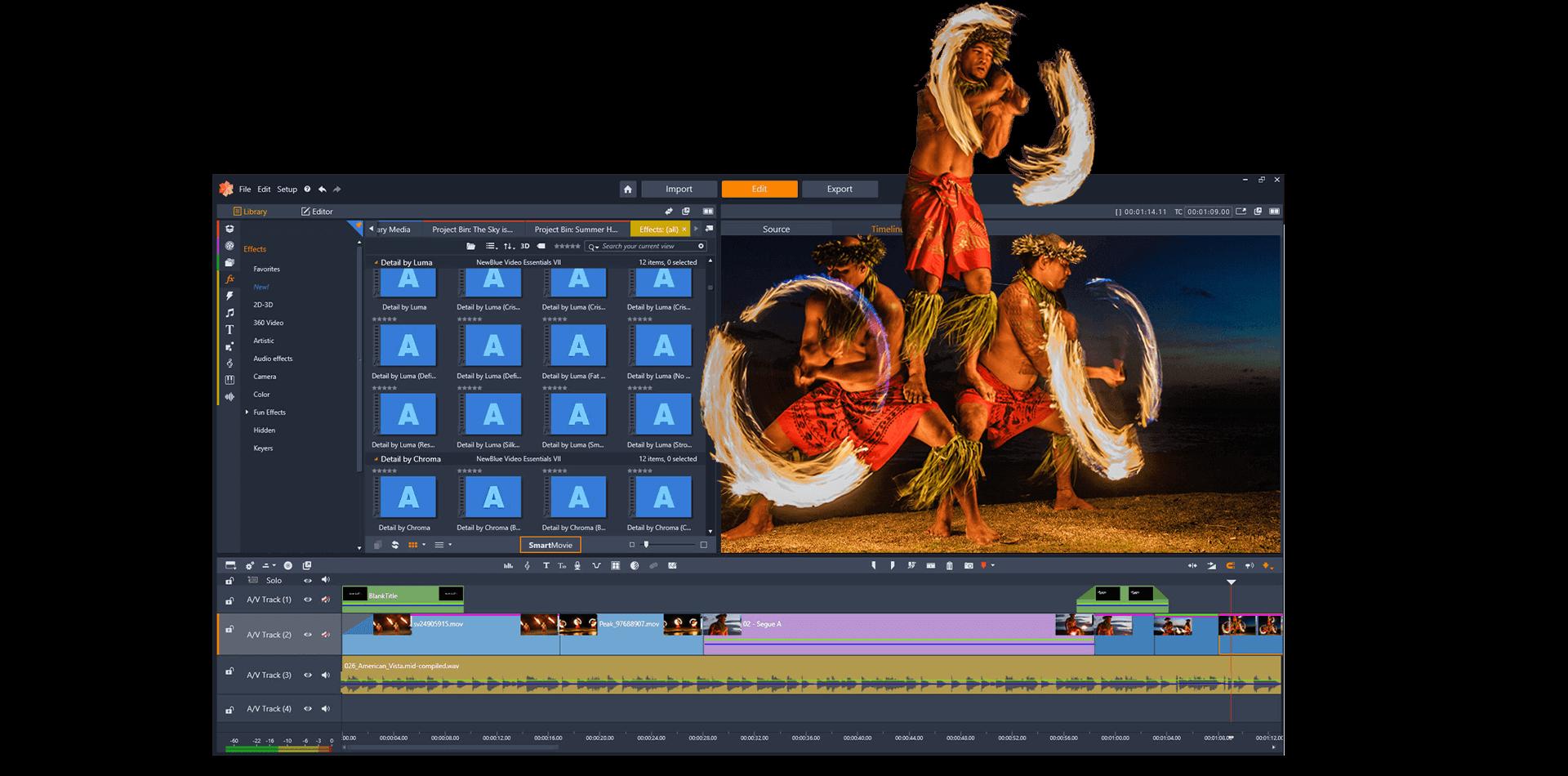 Pinnacle Studio Screenshot