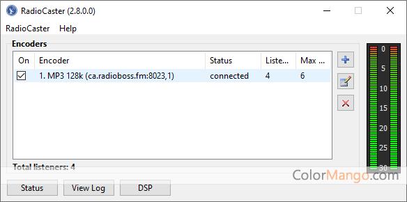 RadioCaster Screenshot