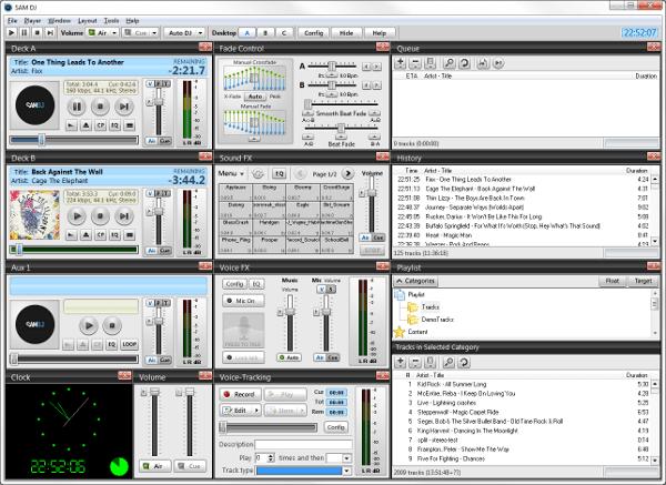 SAM DJ Screenshot