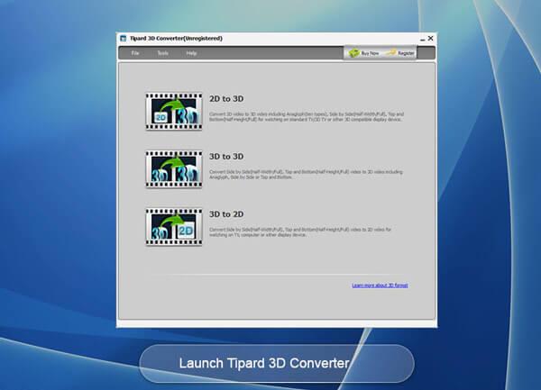 Tipard 3D Converter Screenshot