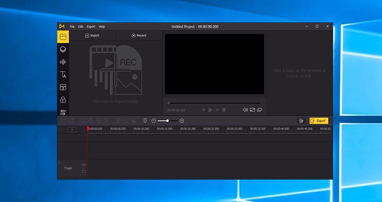AceMovi Video Editor Screenshot