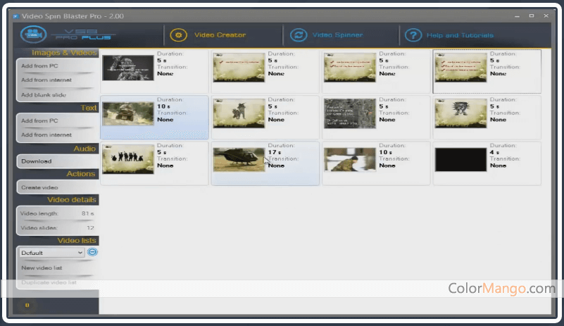 video spin blaster pro free download