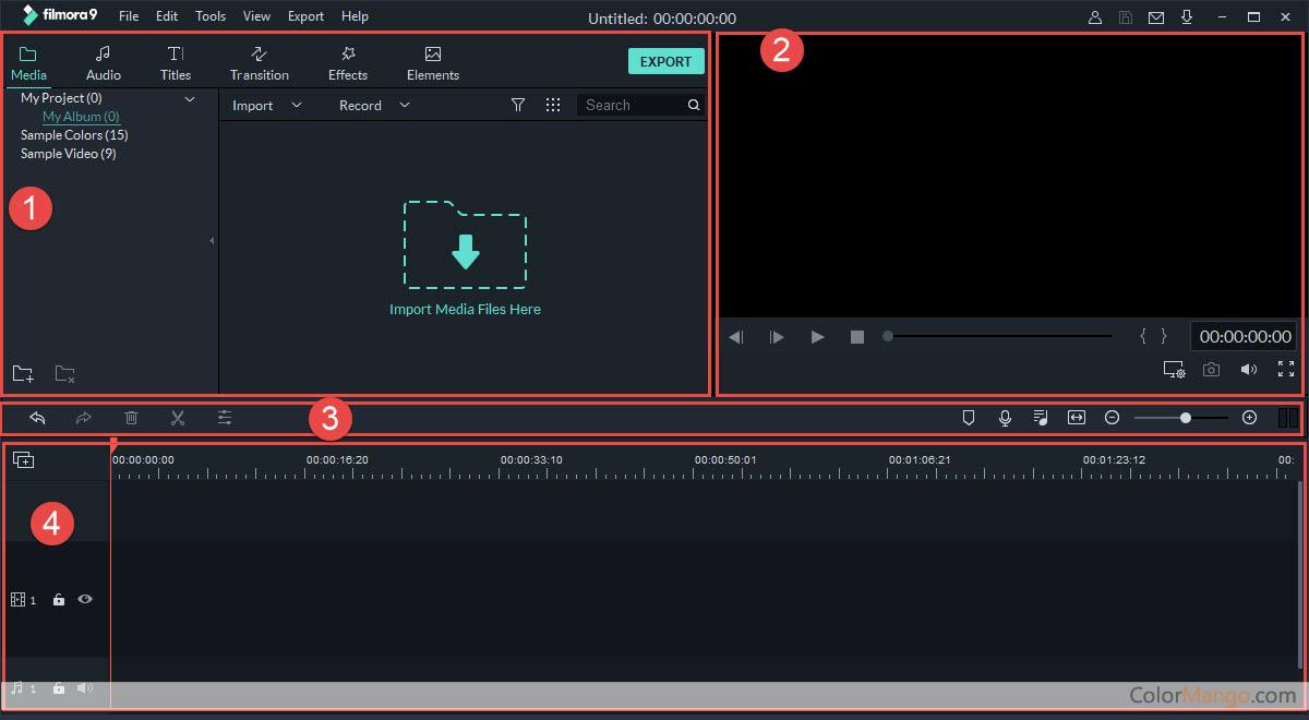 Wondershare Filmora Screenshot