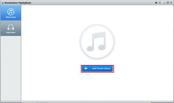 Wondershare TidyMyMusic Screenshot