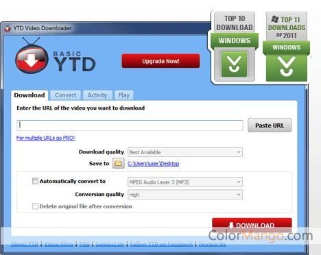 YTD Video Downloader Screenshot