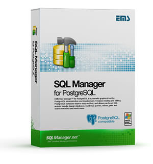 EMS SQL Manager for PostgreSQL Boxshot