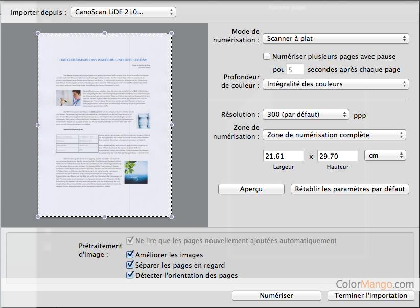 ABBYY FineReader PDF for Mac Capture D'écran