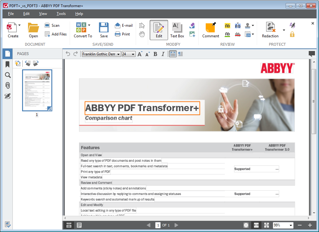Abbyy pdf transformer эта простая и полезная программа преобразует pdf-файл
