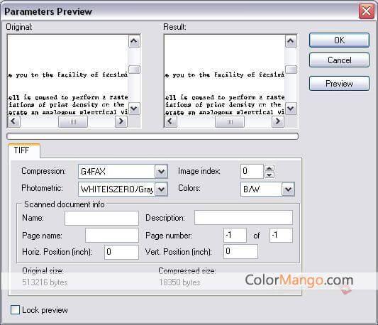 Advanced TIFF Editor スクリーンショット