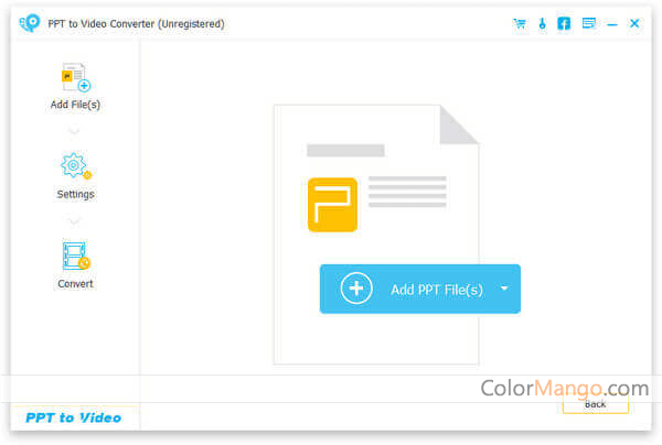 Aiseesoft PPT to Video Converter Screenshot