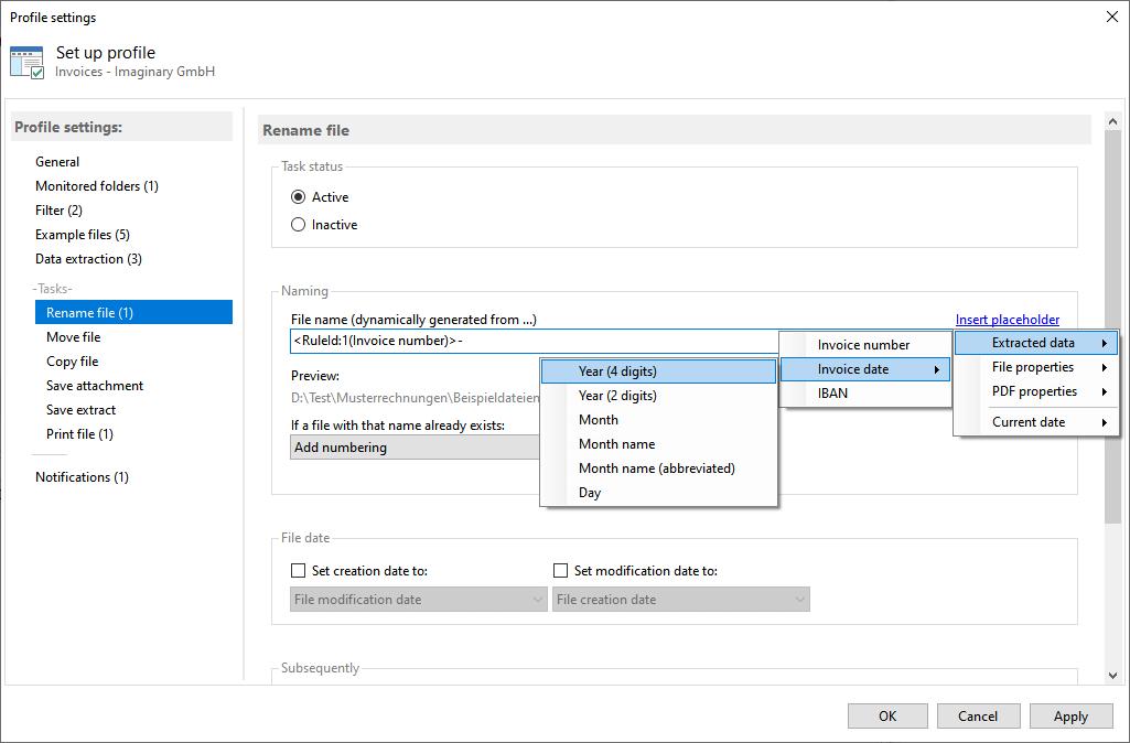 Automatic PDF Processor Screenshot