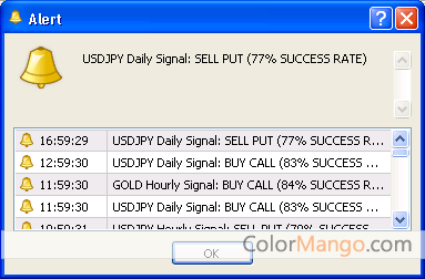 How to use binary options bullet