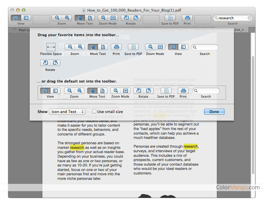 Cisdem Document Reader Screenshot