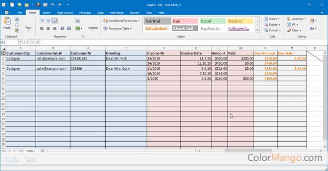 Edi - Text Editor スクリーンショット