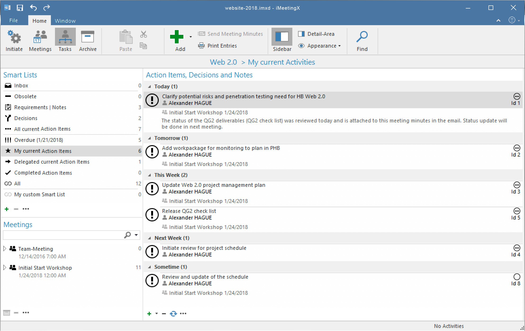 iMeetingX Screenshot