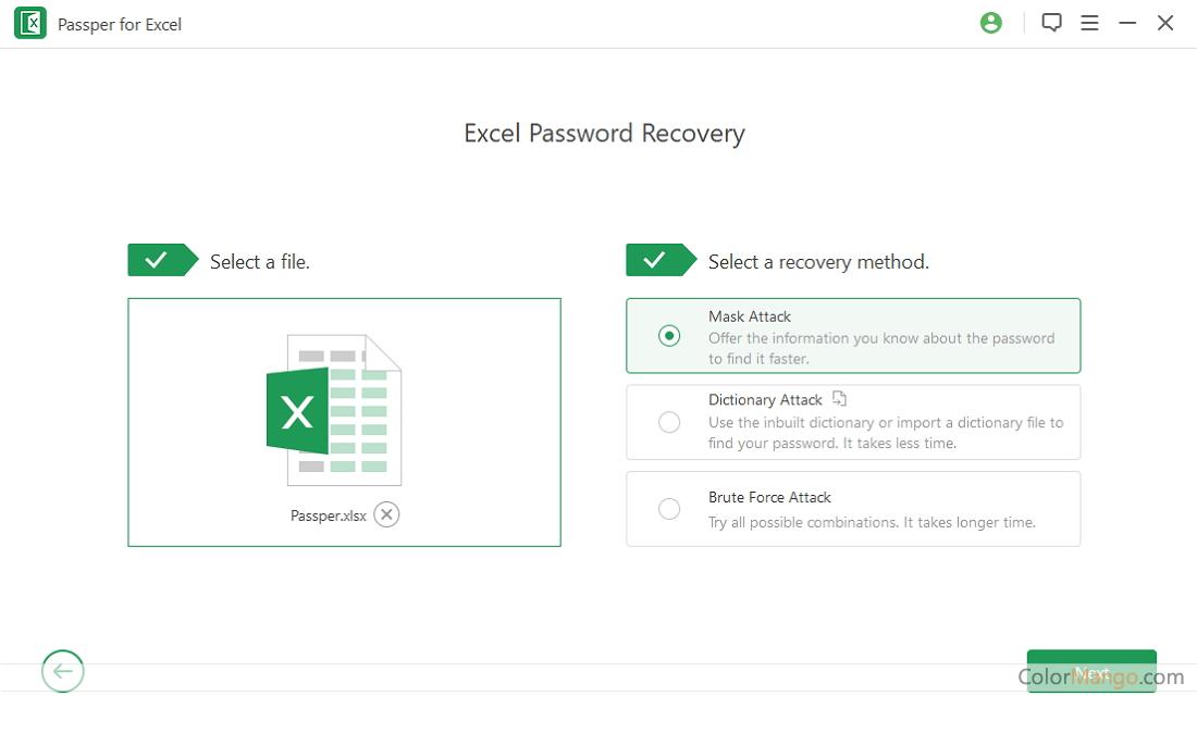 iMyfone Passper Screenshot